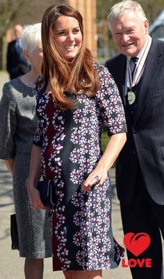 фото беременная кейт миддлтон