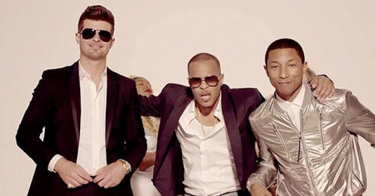 ROBIN THICKE FEAT. T.I. & PHARRELL – BLURRED LINES