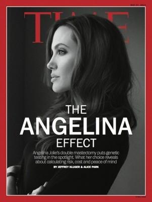 Анджелина Джоли на обложке журнала Time
