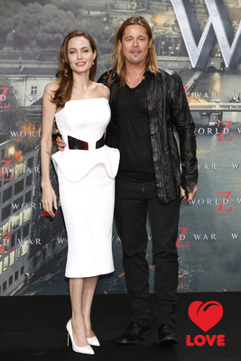 Брэд Питт и Анджелина Джоли в Берлине