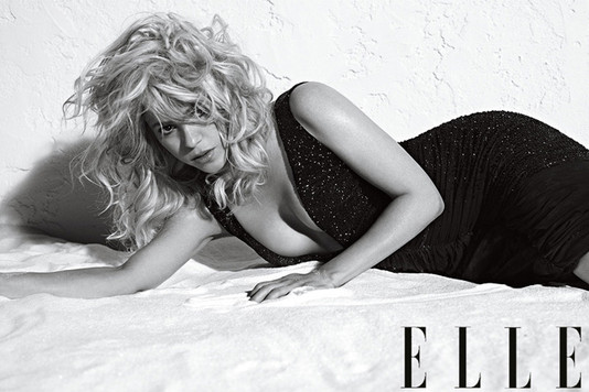 Шакира блеснула на обложке июльского номера журнала Elle
