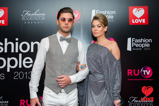 Премия Fashion People Awards – 2013. Слава Никитин и Таня Терешина