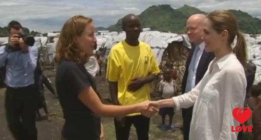 Анджелина Джоли в Конго. Март 2013