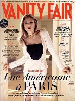 Обложка Vanity Fair со Скарлетт Йоханссон