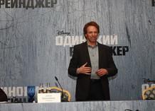 «Одинокий рейнджер». Пресс-конференция в Москве. Джерри Брукхаймер