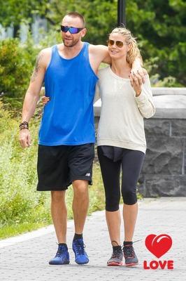 Хайди Клум решила обезопасить себя брачным контрактом