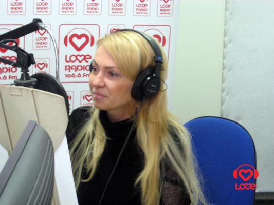 Яна Рудковская в эфире LR