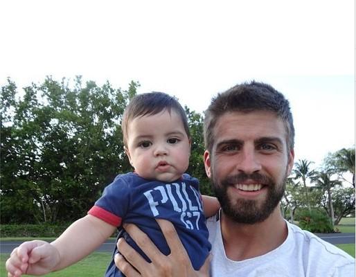 Очаровательная улыбка сына Шакиры