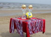 Пляжный футбол на «Новой Волне»