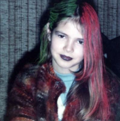 Хайди Клум показала детскую фотографию