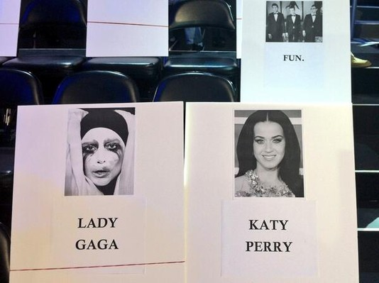 Lady Gaga и Кэти Перри будут сидеть вместе на MTV VMA 2013