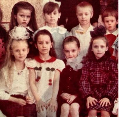 Виктория Дайнеко в детском саду