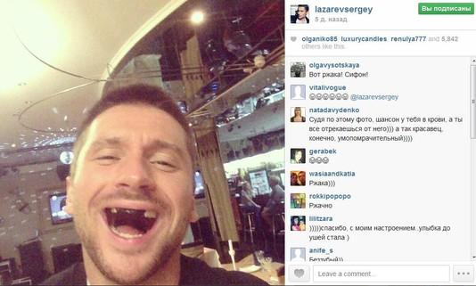 TOP-5 instagram за неделю! Сергей Лазарев