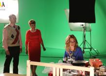Съемки нового клипа Джигана и Полины Скай