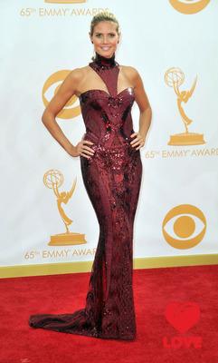 Хайди Клум на «Эмми-2013»