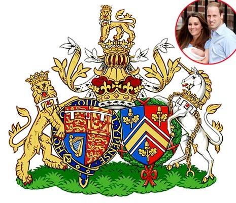 Герцоги Кембриджские получили семейный герб