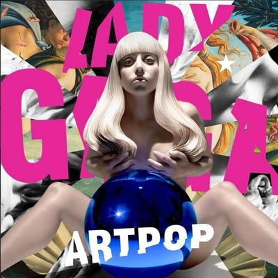 Lady Gaga показала обложку альбома Artpop