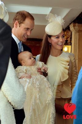 Крещение принца Джорджа