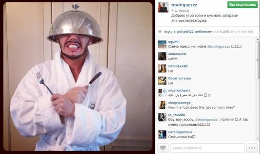 TOP-5 instagram за неделю! Тимур Родригез