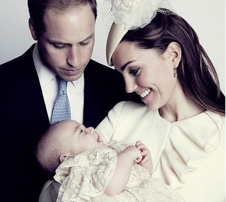 Первая улыбка принца Джорджа