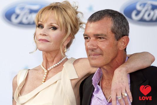 Антонио Бандерас женат на Мелани Гриффит уже более 15 лет