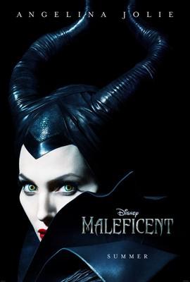Первый постер Джоли в образе Малефисенты