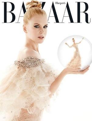 Николь Кидман для Harper's Bazaar
