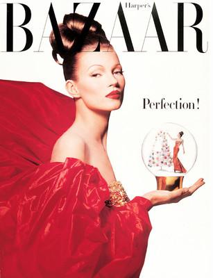 Кейт Мосс для Harper's Bazaar