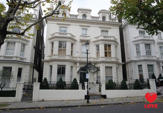 Дэвид и Виктория Бекхэм купли особняк в Лондоне