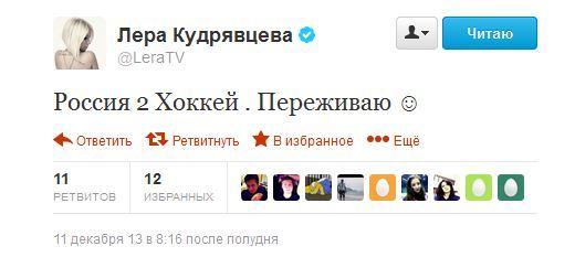 TOP-5 твиттов за неделю! Лера Кудрявцева