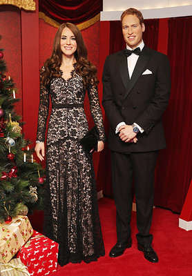 Восковые Кейт Миддлтон и принц Уильям представлены в Сиднее