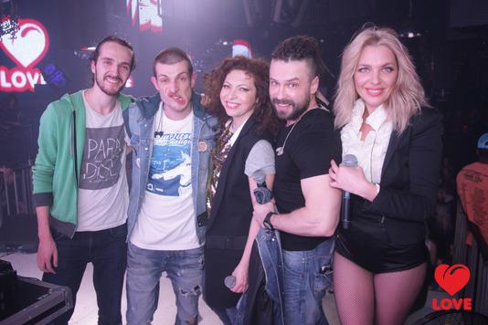 Вечеринка Love Radio. Группа Банд'Эрос