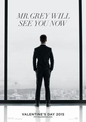 Вышел первый постер фильма 50 оттенков серого