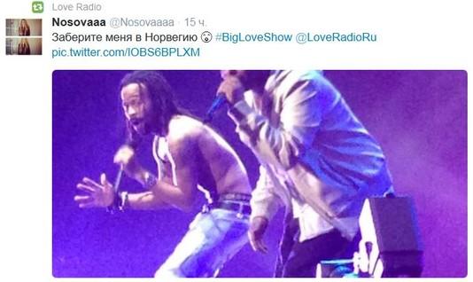 Big Love Show 2014 в Санкт-Петербурге. Твит