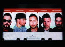 Концерт Backstreet Boys в Москве