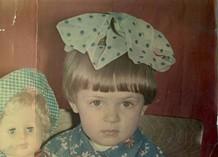 Яна Рудковская показала свои детские фото