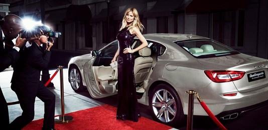 Хайди Клум снялась в рекламе Maserati