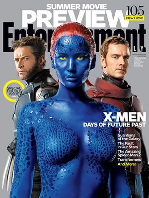 Люди Икс попали на обложку Entertainment Weekly