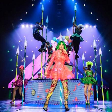 Леди Гага прокомментировала тур Кэти Перри