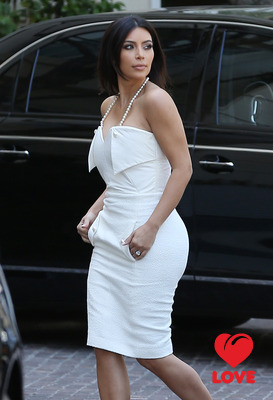 Ким Кардашиян устроила девичник