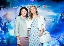 Премьера «Малефисенты». Марина Жигалова-Озкан и Светлана Бондарчук