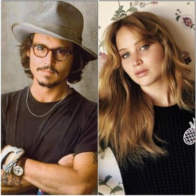 Депп и Лоуренс - самые значимые актеры современности