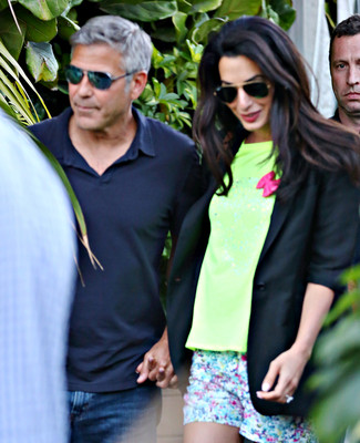 Свадебные фото Клуни появится на обложке Vogue