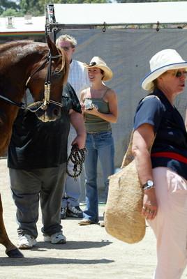 Милано с лошадью