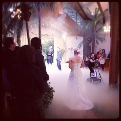 Свадебная церемония Лорен Адкинс
