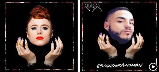 Обложка Sound of a Woman: оригинал vs фан-арт