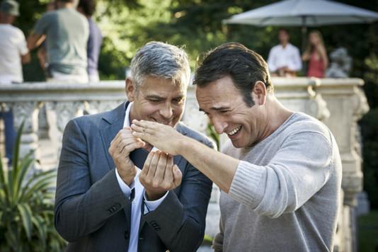 Джордж Клуни и Жан Дюжарден