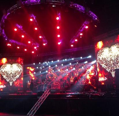 Сцена Big Love Show 2015 Санкт-Петербург
