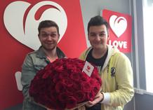 Ведущие Love Radio поздравляют Валерия Меладзе