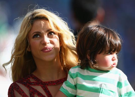 Шакира со своим сыном